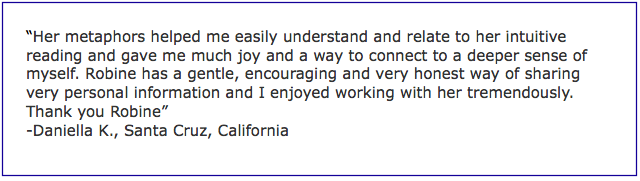 Medical Intuition Testimonial